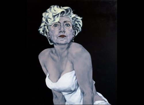 Hillary Clinton as Marilyn Monroe by Sarah Ferguson