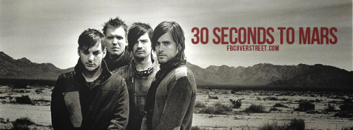 30 Seconds To Mars Facebook Covers