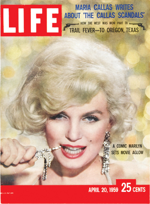 life:  On this day in LIFE Magazine… A Comic Marilyn Sets Movie Aglow See unpublished photographs of Marilyn Monroe here.