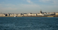 Bordeaux, France via the River Garonne. Day 2 sail trip. Photo by Amber Maitrejean