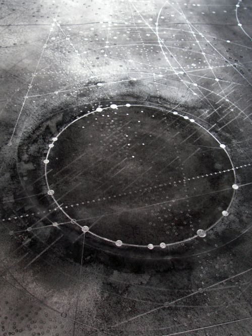 Above: C19 - carbon/graphite on paper, 100cm x 140cm  Emma McNally1 .  C19 (2) - carbon/graphite on paper .  C10 (5) - carbon/graphite on paper