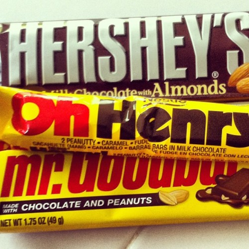 #photoadayapril 17. something you don't like. Any candy with  nuts is safe from me. They taste like dirt.  (Taken with instagram)