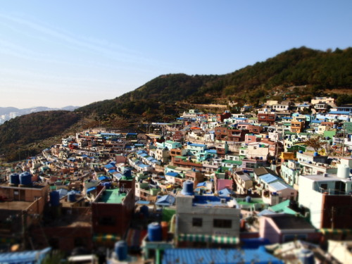 Busan, last autumn. Sometimes all you need for a nice day is that blue sky.