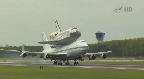 Discovery has landed for the final time.