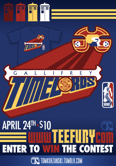 'Galifrey Time Lords' Tee