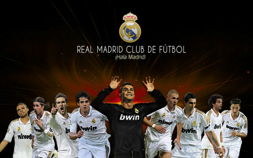Come on Madrid! HALA MADRID!