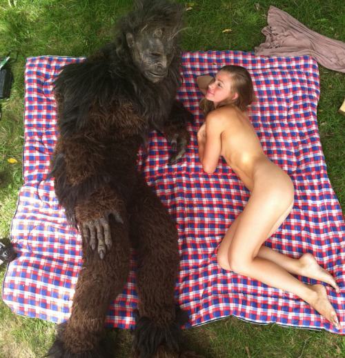 danishprinciple:  Sweet Prudence & the Erotic Adventure of Bigfoot   That's some strange interracial × bbc × zoophilia mix.