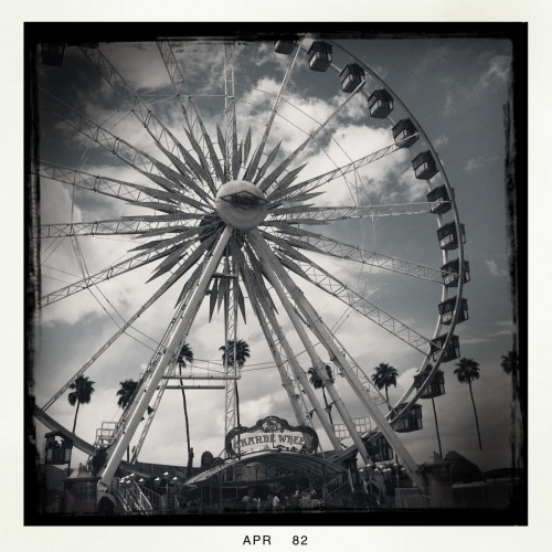 Ferris Wheel at Coachella. Indio/Palm Springs, California.