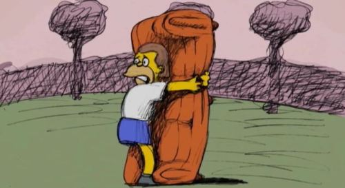 An animated story of how the Simpsons' couch became the most famous piece of furniture in the cartoon series.