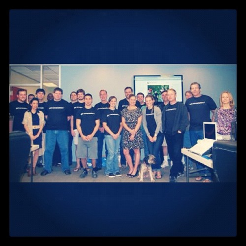 @dailyRx team huddle!  (Taken with Instagram at Patient Conversation Media)