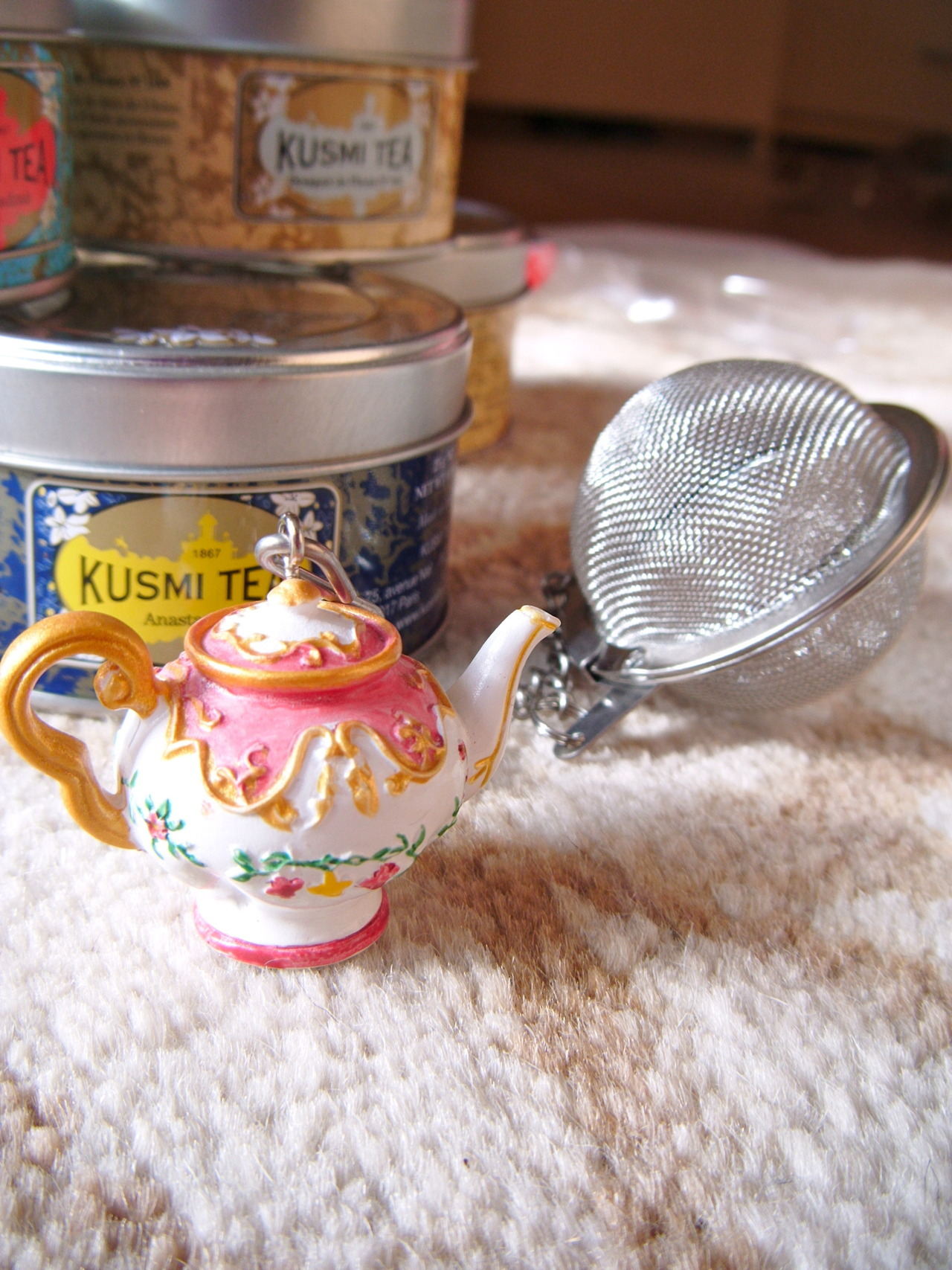 Tea Strainer from Paris