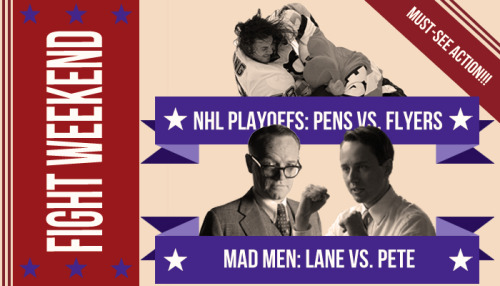 "Check out ""Brawl Buster: Pens-Flyers vs. Lane Pryce-Pete Campbell"" where we break down the weekends two biggest scrums."