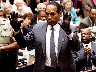 "Does America need a re-do of the O.J. trial? ""There would be other useful aspects to ""All Trayvon All The Time."" It would highlight the true, but pernicious, nature of racial profiling. The idea here is not that profiling happens ""even"" to people like, say, Henry Louis Gates, Jr. Mistakes like Zimmerman's are perpetrated against black people, period—and Trayvon's teenaged Twitterverse braggadoccio, as I have written, shows him to have been precisely the type of normal kid who is routinely victimized by such evil. Trayvon's case can also create racial empathy in other meaningful, if less substantial, ways. He was handsome, and even his name, a created, post-sixties one with a redolence more of The Wire than black Martha's Vineyard, has a sound that many Americans of all walks subconsciously embrace as authentic, approachable."" - John McWhorter, The Case for Televising the Trayvon Martin Trial: America Needs a Re-Do of the O.J. Case Photo courtesy of the Chicago Sun-Times"