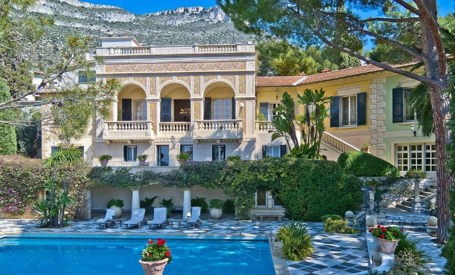 NEW Back with a bang, this 13 bedroom Belle Epoque style residence in Cap d'Ail, rare and incomparable, this property is unique in every way. Moments away from the Mala Beaches.