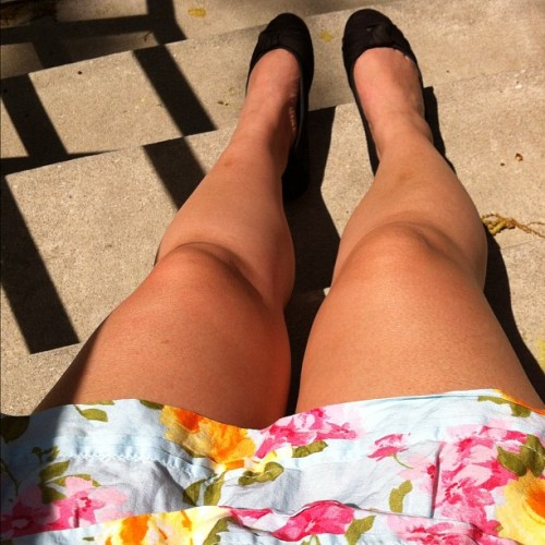 my short legs need some sun.  (Taken with instagram)