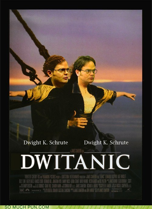 I think I'd prefer watching Dwitantic 3D than sitting through a billion hours of Titanic 3D