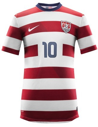New US MNT home jersey