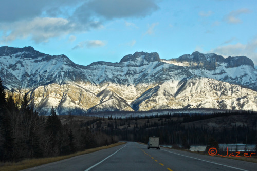 I just love the drive from BC to Alberta!