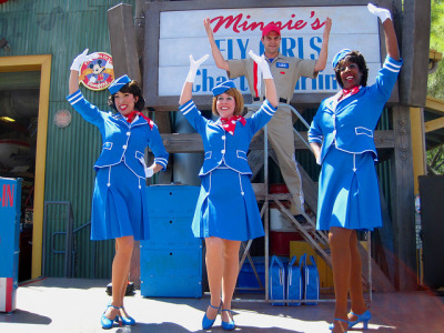 fuckyeahdca:  Minnie's Fly Girls Charter Airline by JadeMonsterRAWR on Flickr.