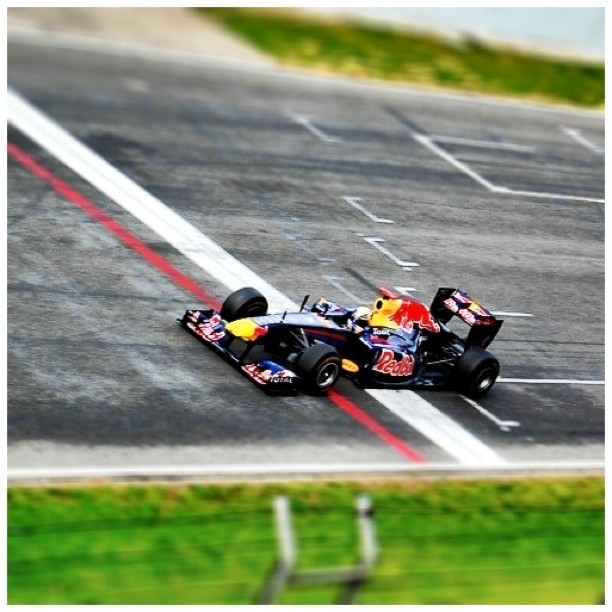 RBR at Circuit de Catalunya.