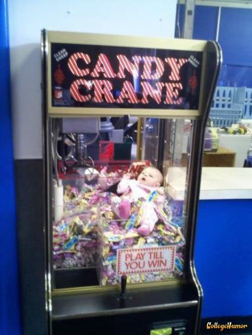 Baby in a Claw Machine   I lost so many quarters trying to adopt my child.