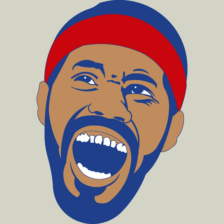 Rasheed Wallace art. It's a beautiful thing!