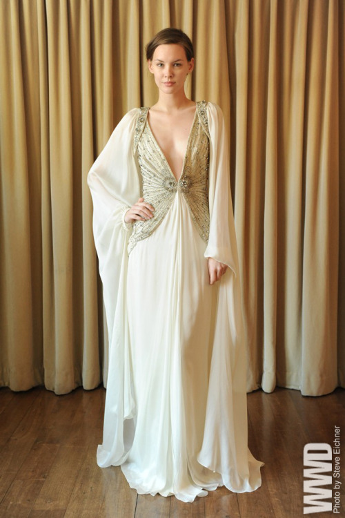 womensweardaily:  Temperley Bridal Spring 2013
