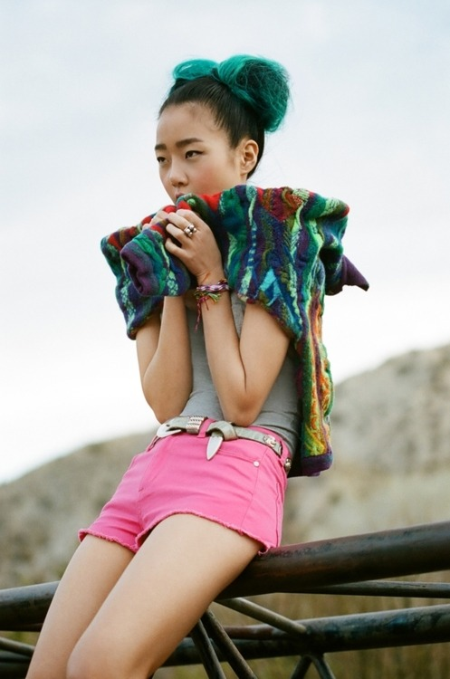 birdwings:  Hyoni Kang is The Most Adorable. Madewell, can we get some a' this up in the catalogue, please?
