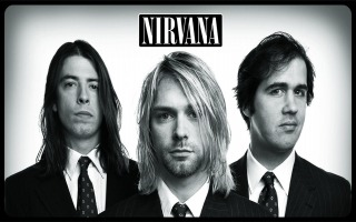 Nirvana was a rock band formed by vocalist and guitarist Kurt Cobain and bassist Krist Novoselic in Aberdeen in 1987. Nirvana went through several drummers, and the longest was in the band was Dave Grohl, who joined in 1990.