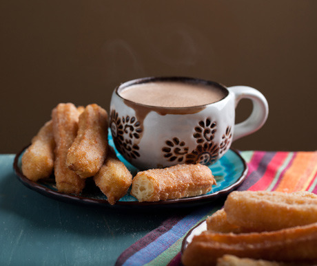 Recipe for XOCO Churros with Mexican Hot Chocolate. OMG.