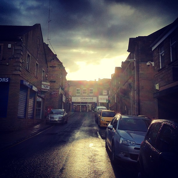 Cleckheaton #cleckheaton #bradford #leeds #sun #rain #reflection#iPhone #iphone4s #instagram #instagood #instagreat #instafamous #ig #igers #ipopyou  #iphonesia #webstagram #instagramers  #ahahahaCheah #igdaily #instagold #instamood #photooftheday #ignation #igaddict #instago #primeshots #instagram_masters #instagram_underdogs #ighype  (Taken with Instagram at Cleckheaton, West Yorkshire )