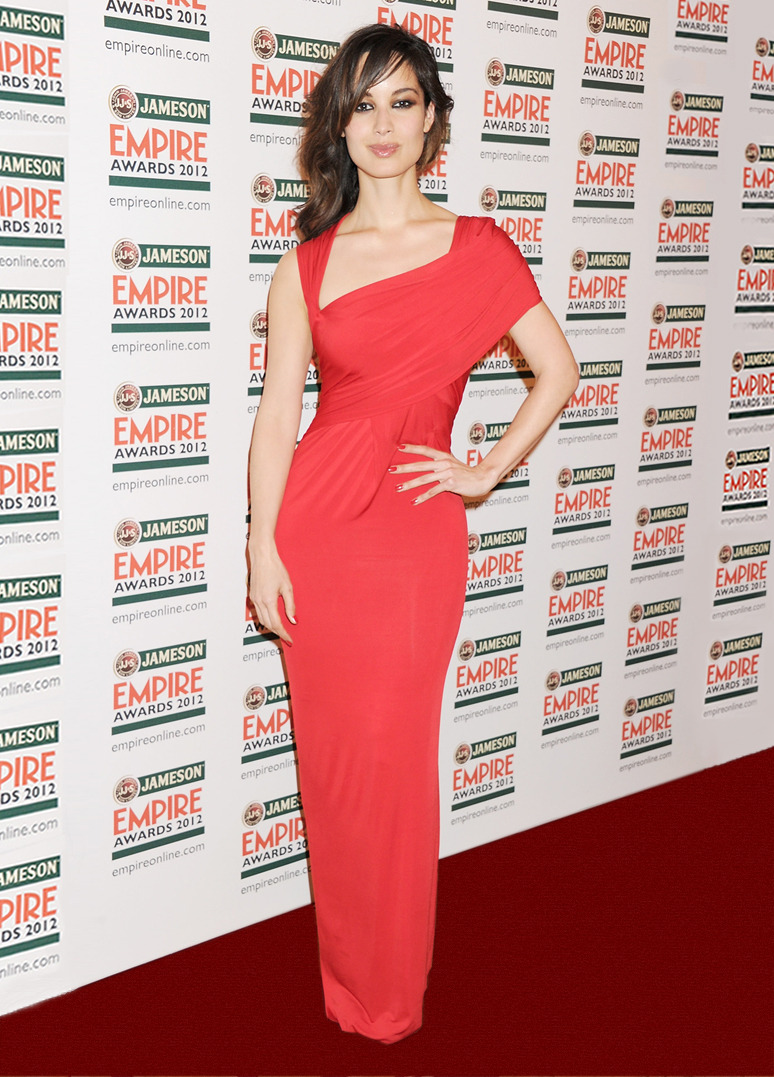 BERENICE MARLOHE  Actress Berenice Marlohe at the Jameson Empire Awards in London, March 25, 2012. TO SEE MORE RED CARPET LOOKS VISIT DONNAKARAN.COM
