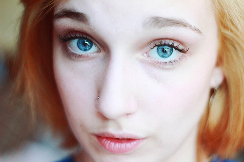 love-england:  blue eyes (by adrian raymer)