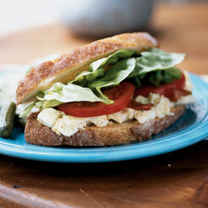 Egg Salad BLT's … nothing better than having breakfast for dinner. And bacon, too? Perfect! Make!!