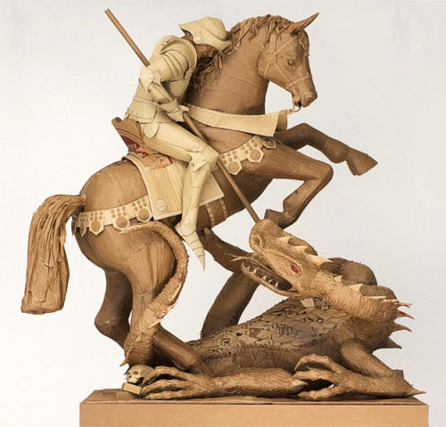 Incredible Cardboard Sculptures (via @buzzfeed)
