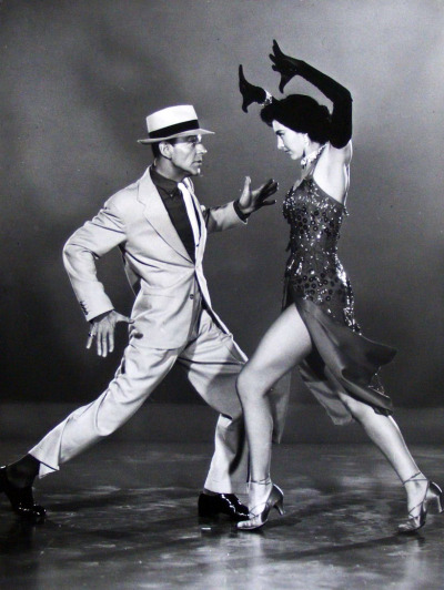 theniftyfifties:  Fred Astaire and Cyd Charisse in 'The Band Wagon', 1953.