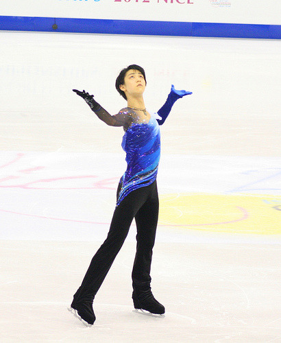 beautiful-shapes:  Yuzuru Hanyu worlds 2012, SP