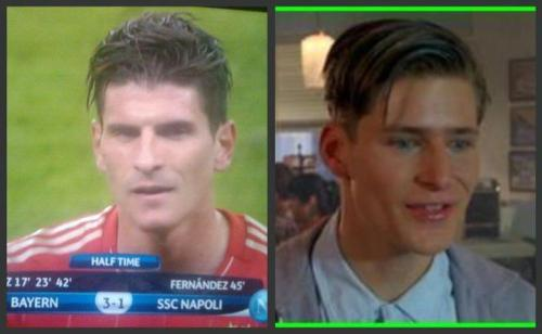 crouchyshavinghisnachos:  mario gomez looks like george mcfly from back to the future and also creepy thin man from charlie's angels but that's exactly the same man