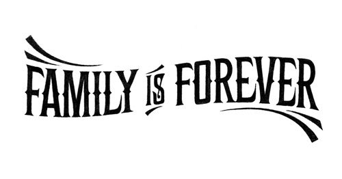 serialthrillerinspiration:  Family is Forever by Simon Ålander.  Truest words .