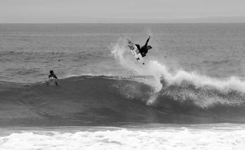 I thought this was a rad picture because Yadin Nicol is killing it and you can see me in the lip in awe.