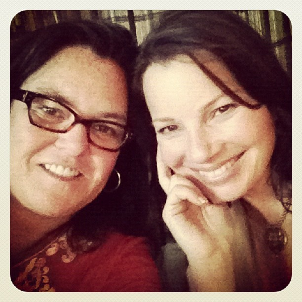 Fran Drescher and Rosie   source @rosie