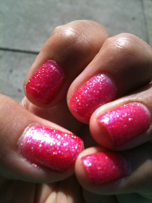 Korean polish called Scandal Dynamic Pink  -h