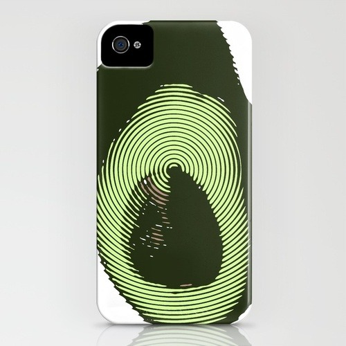 (via Avacado iPhone Case by Romi Vega | Society6) Hey, it's the AVACADO PHONE! Get the iPhone case for $35 from my S6 shop. You vegan hipster, you…