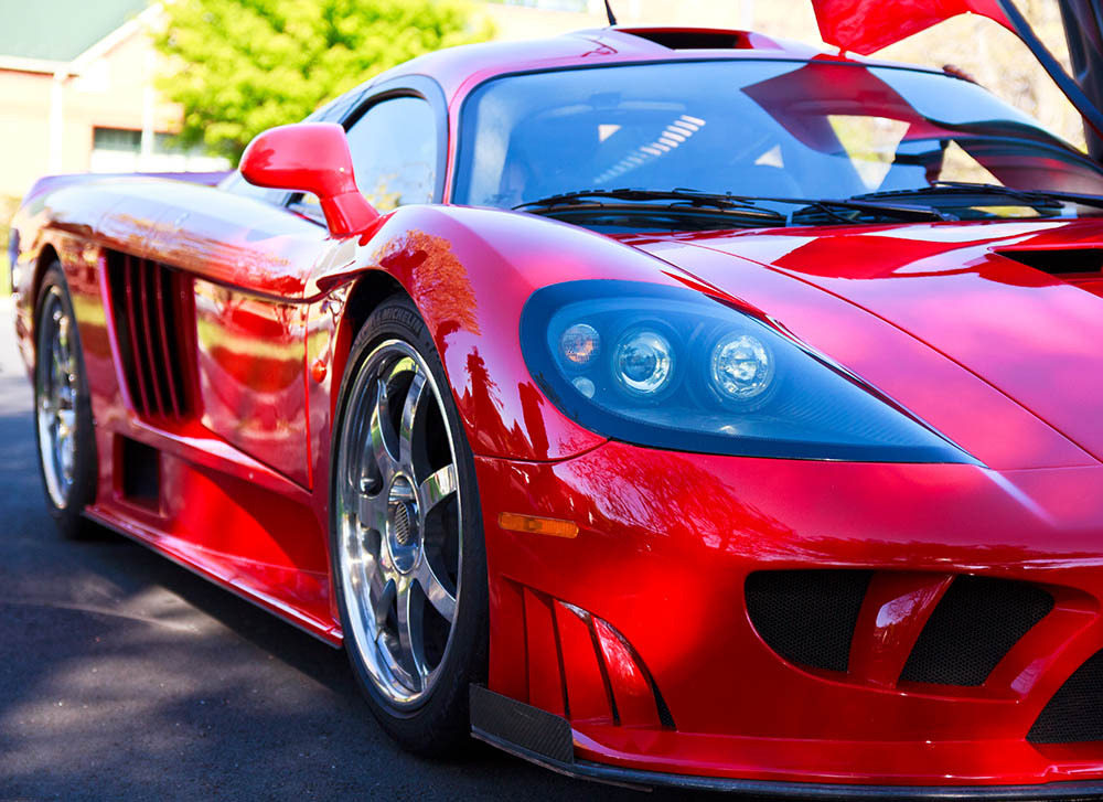 Saleen S7 Twin Turbo - Legendary, and Nothing Less