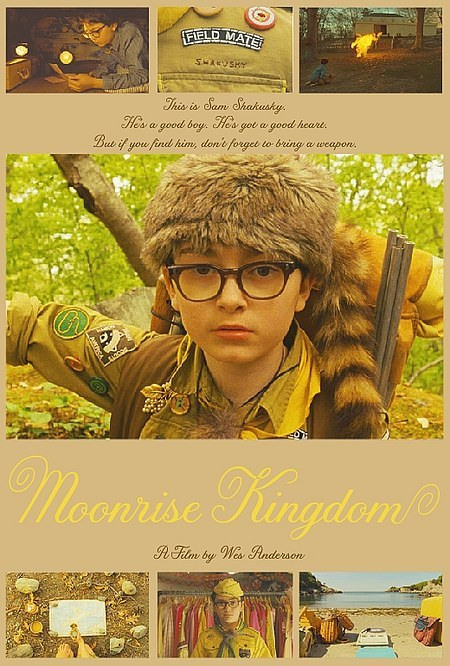 thepostercollective:  Not Your Average Character Posters: Moonrise Kingdom