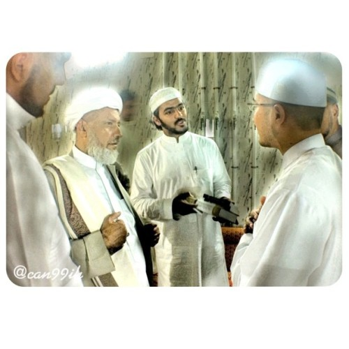 one night in makkah with Syaikh Omar bin Hamid Al-Jilani & family. subhanallah.