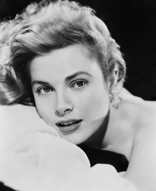 Grace Kelly visage