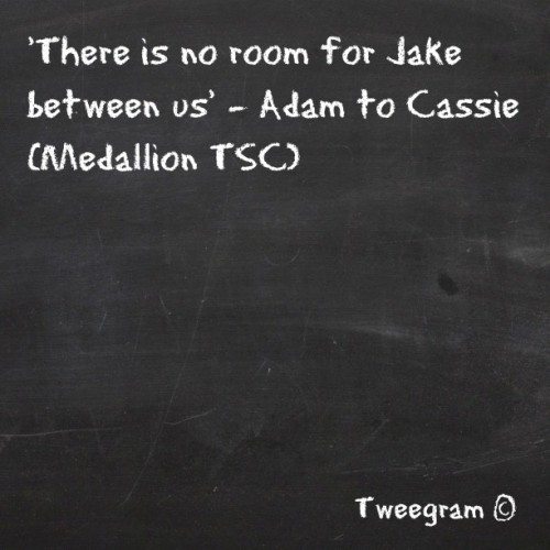 #cadam #quote #tsc #Secretcircle #ljsmith #jake #chriszylka #adam #thomas dekker #cassie #brittrobertson #quote #tweegram  (Taken with instagram)