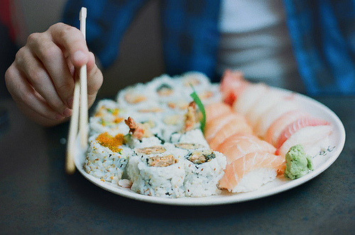 I want some sushi right now!!!!!