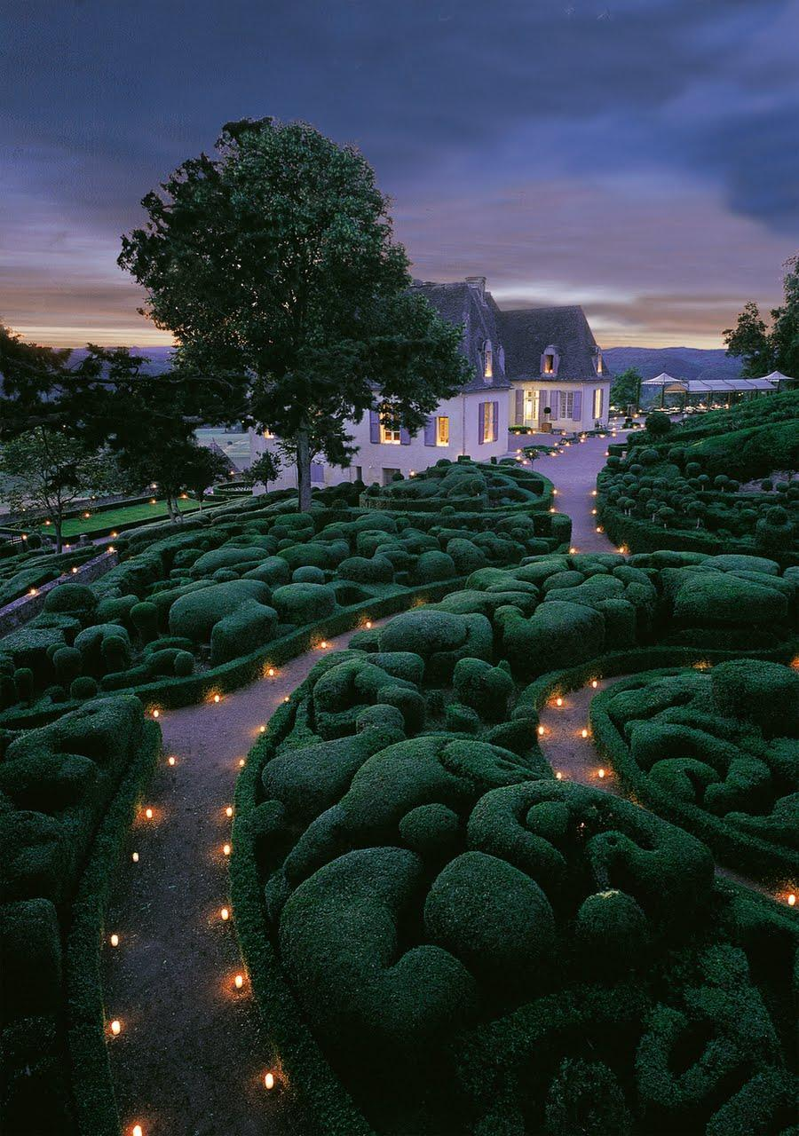 magicalnaturetour:  Gardens at Marqueyssac, France :)